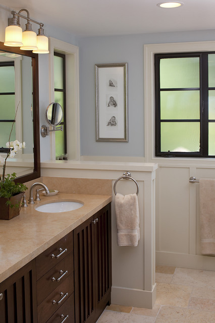 Portola Valley residence traditional bathroom