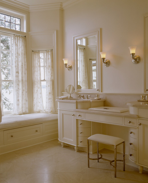 Conard Romano Architects traditional bathroom