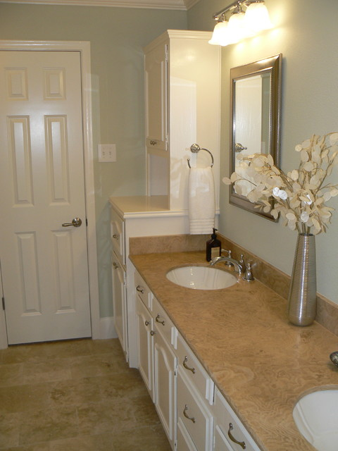 Its Great To Be Home Serene Guest Bath Traditional