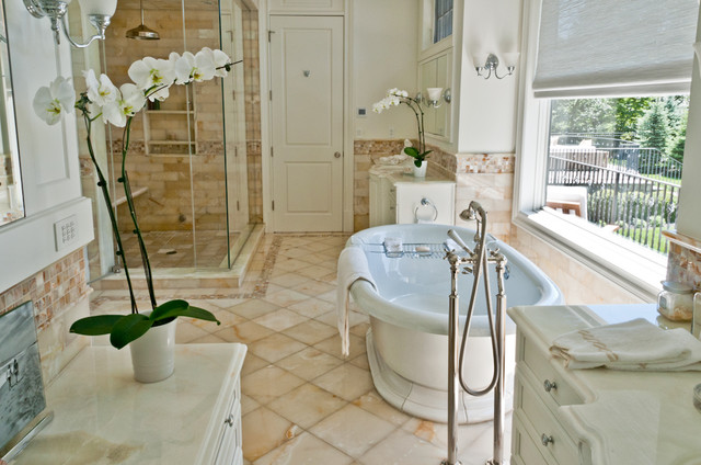 Artistic Tile traditional bathroom