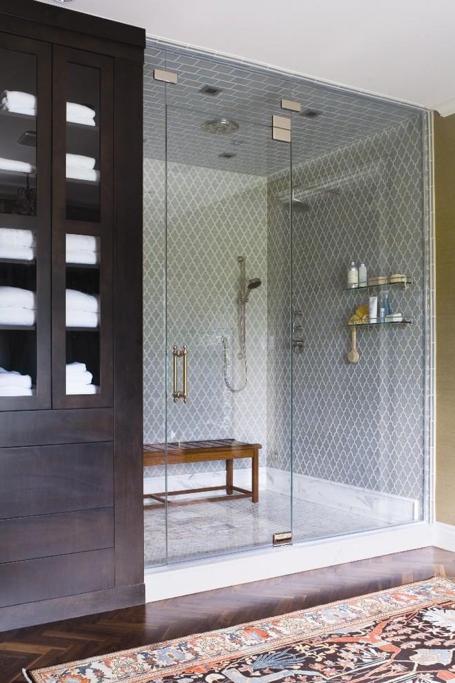 Example of a classic bathroom design in Denver