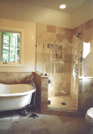 Leeza Designs traditional bathroom