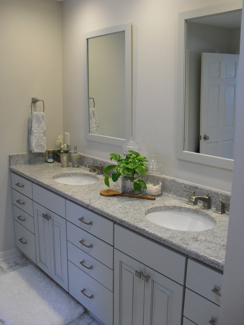 Traditional bathroom in lansing michigan traditional for Accents 3101 salon sioux falls sd