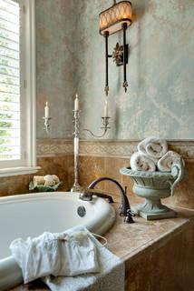 Traditional Bathroom Interiors - Traditional - Bathroom - kansas city - by Chad Jackson Photo