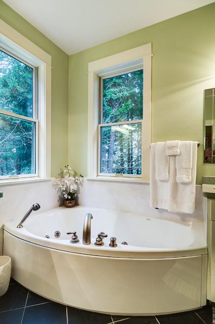 Traditional White Bathroom Traditional Bathroom Portland By John Webb Construction And