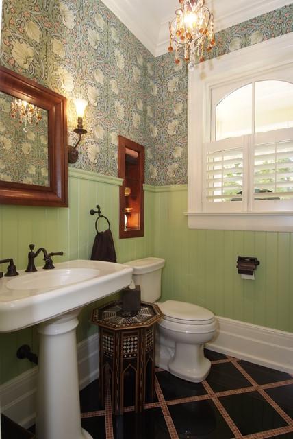 Lindsay Creates a brand new Victorian traditional-bathroom