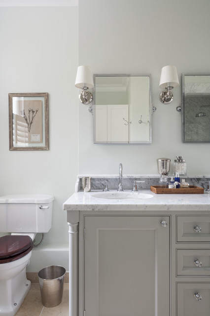London townhouse traditional bathroom london by lisette voute designs - Bathroom design london ...