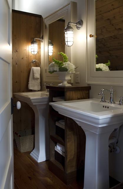 Crosslake traditional-bathroom