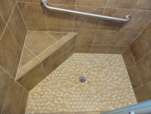 Traditional Bathroom Natural Stone - traditional - bathroom - san