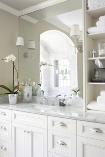 Ansley Park Master Bath traditional bathroom