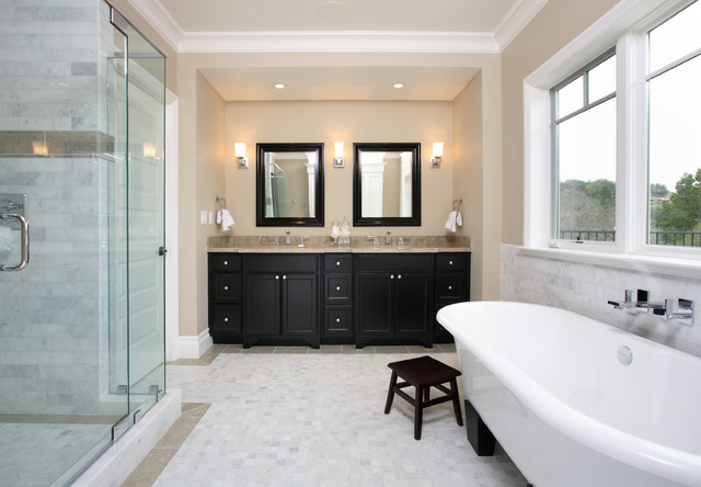 #53 - Owner - Los Altos traditional bathroom