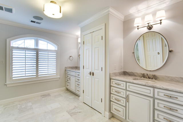 Traditional Bathroom Remodel Potomac MD By Reico Kitchen Bath Tradit