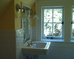 Druid Hills Renovation New Children's Bathroom in Attic traditional-bathroom