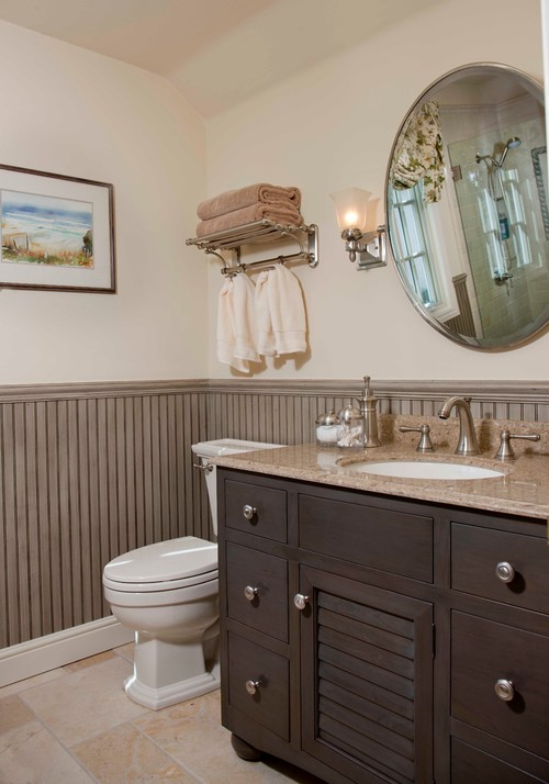 Where did you get the towel rack? How high is it above toilet lid