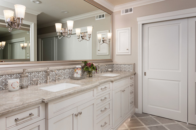 Traditional Beauty In Irvine Ca Traditional Bathroom Orange County By Sanctuary Design