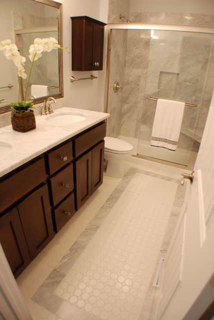 Traditional Carrera Bathroom traditional bathroom