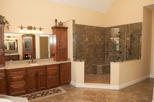 Traditional Custom Home Traditional Bathroom Indianapolis By Steve Connors Builder