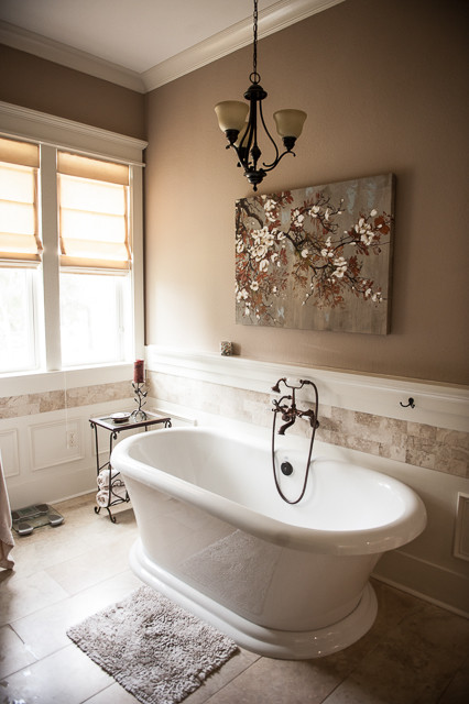 Traditional Custom Home traditional-bathroom