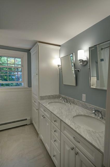 Traditional Double Vanity Bathroom Remodel