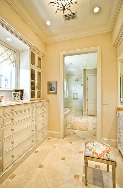 Traditional dressing room traditional bathroom other for Bathroom and dressing room design