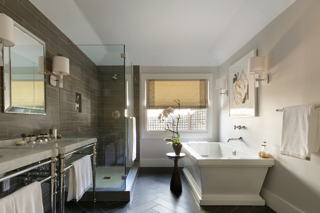 Traditional home magazine napa valley showhouse 2013 for Show home bathrooms
