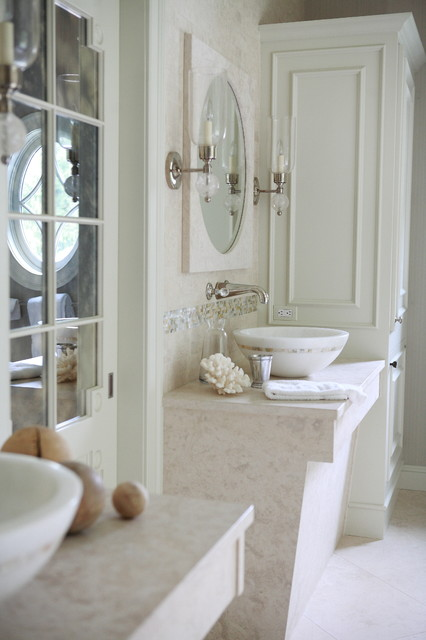 Traditional Home of Greenwich CT - traditional - bathroom - new