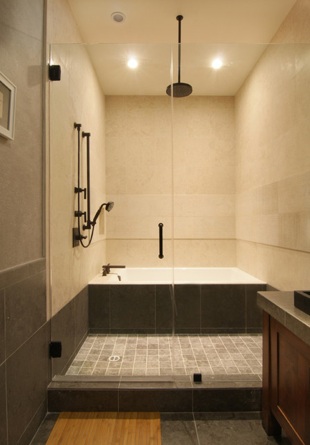 Traditional japanese asian bathroom los angeles by for Asian style bathroom designs