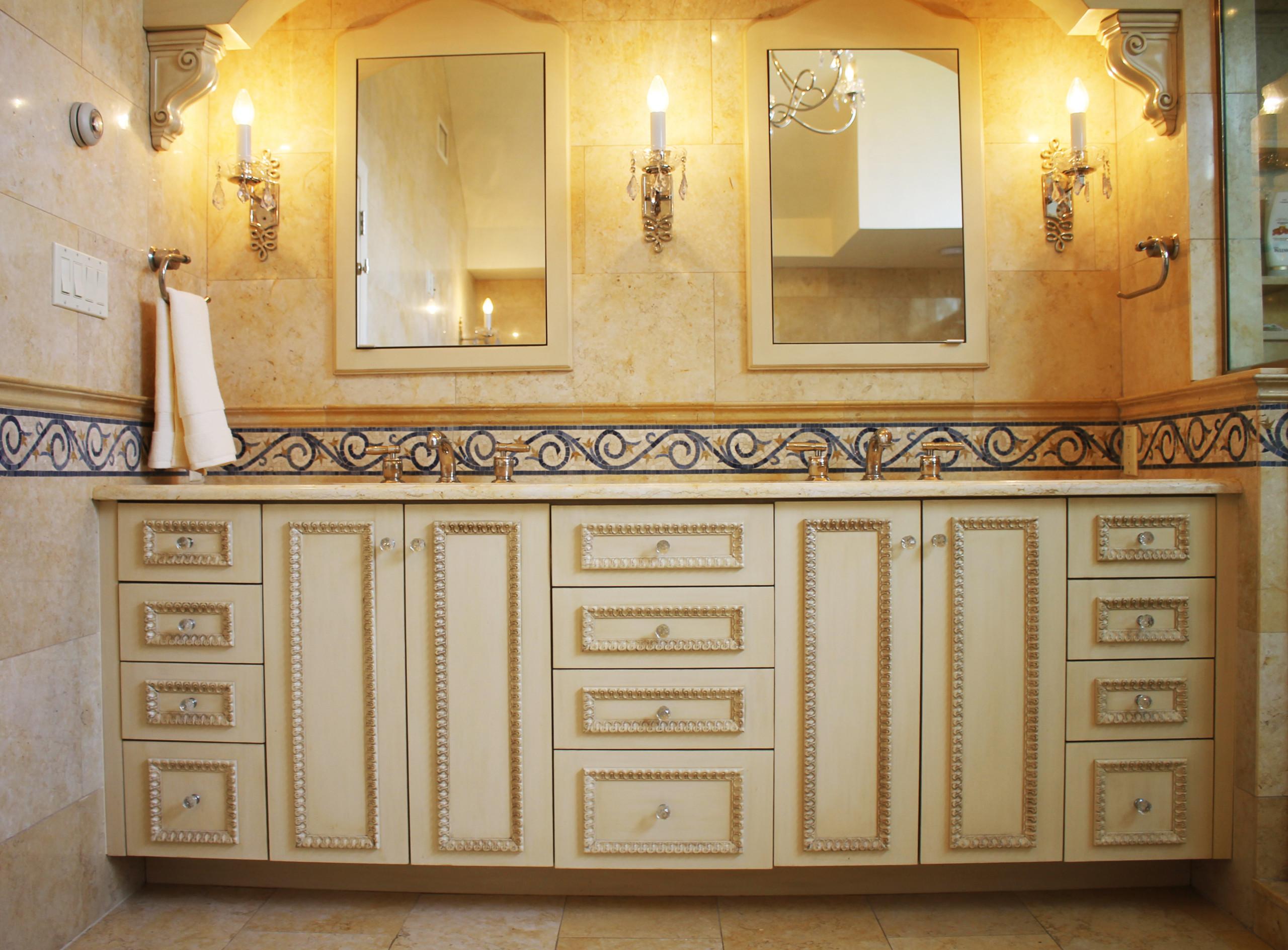 Traditional Master Bath NY Home