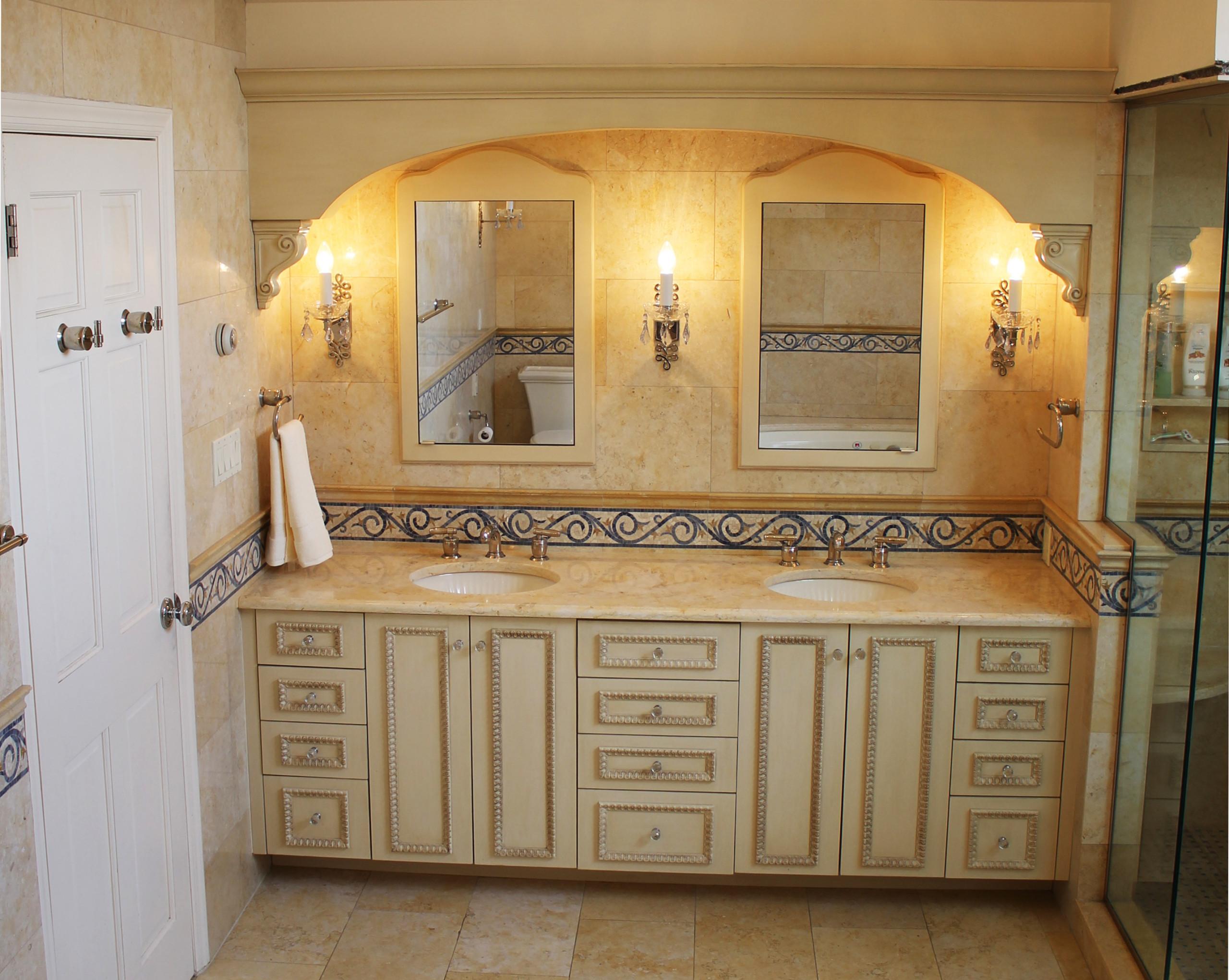 Traditional Master Bath, NY Home