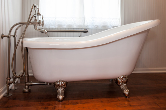 Traditional Master Bath With Clawfoot Tub Traditional Bathroom Other By White Crane