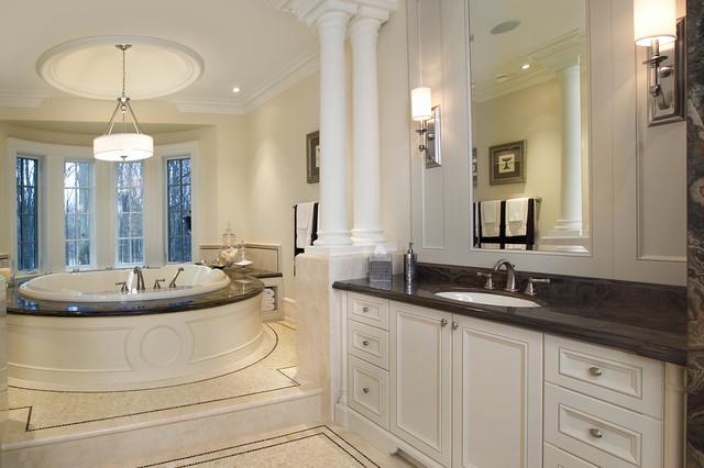 Traditional master ensuite bath traditional bathroom toronto by segreti design - Bathroom design toronto ...