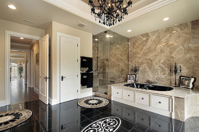 Traditional/Modern Luxury Bathroom