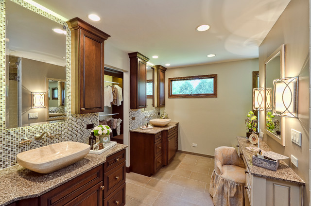 Traditional Modern Twist Traditional Bathroom