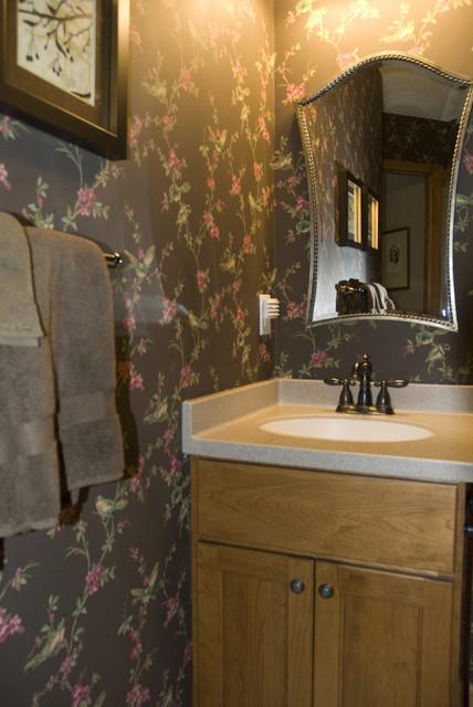 Traditional Powder Room traditional-bathroom