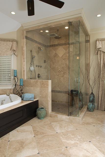 traditional spa like master bath traditional bathroom