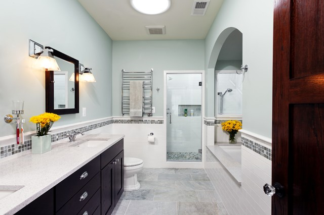 Spanish Mediterranean Bathrooms: Traditional Spanish Colonial