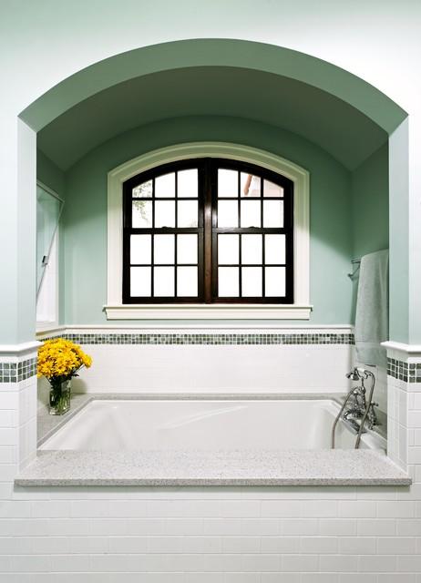 Traditional Spanish Colonial Master Bathtub Alcove Mediterranean Bathroom Dc Metro By