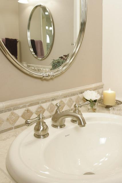 Traditional Travertine Bathroom traditional-bathroom