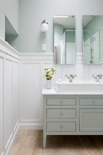 bathroom transitional bathroom auckland by templer interiors