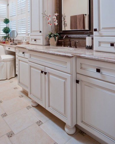 Transitional Bathroom  - Designed by Kitchen Elements traditional-bathroom