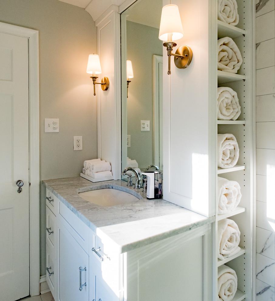 Transitional Bathroom Design Richmond, VA - Bathroom ...