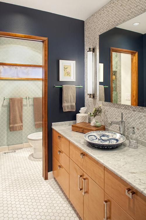 West Linn Master Suite asian bathroom