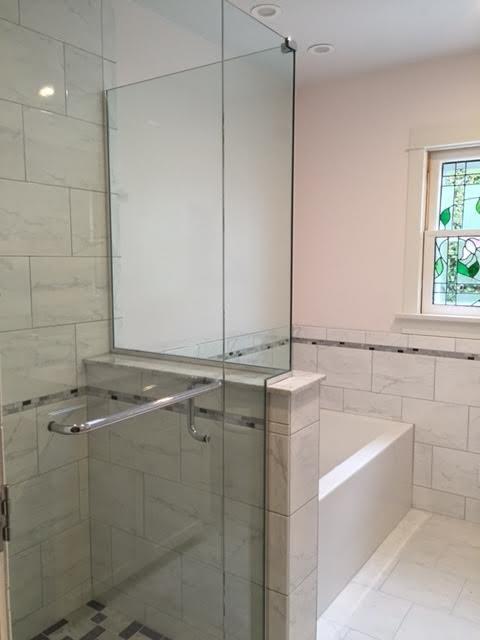 Transitional bathroom remodel in san diego - Bathroom renovation san diego ...