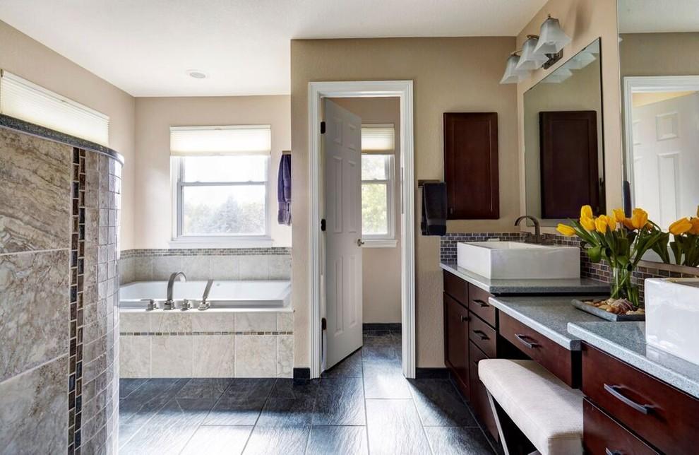 Transitional Bathroom Remodel - Transitional - Bathroom ...