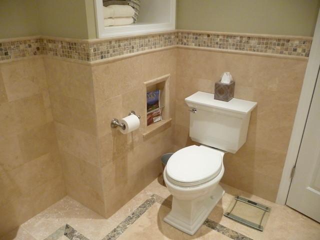 Transitional Bathroom Remodel modern-bathroom