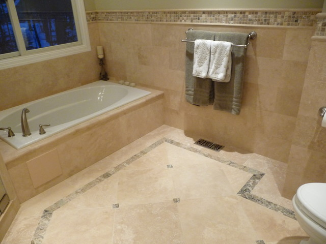 Transitional Bathroom Remodel Modern Bathroom Philadelphia By Stonemar Natural Stone