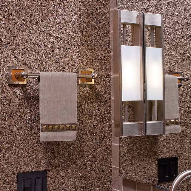Transitional Bathroom Wall Sconces : Transitional Bathroom Wall Sconce + Hardware By Rocky Mountain Hardware - Transitional ...