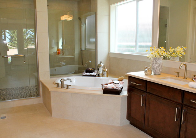 Transitional Bellevue Luxury Home Bathroom Seattle By Seattle Staged To Sell And Design Llc