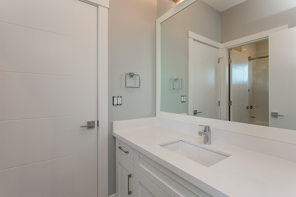 Transitional Custom Family Home - Transitional - Bathroom ...