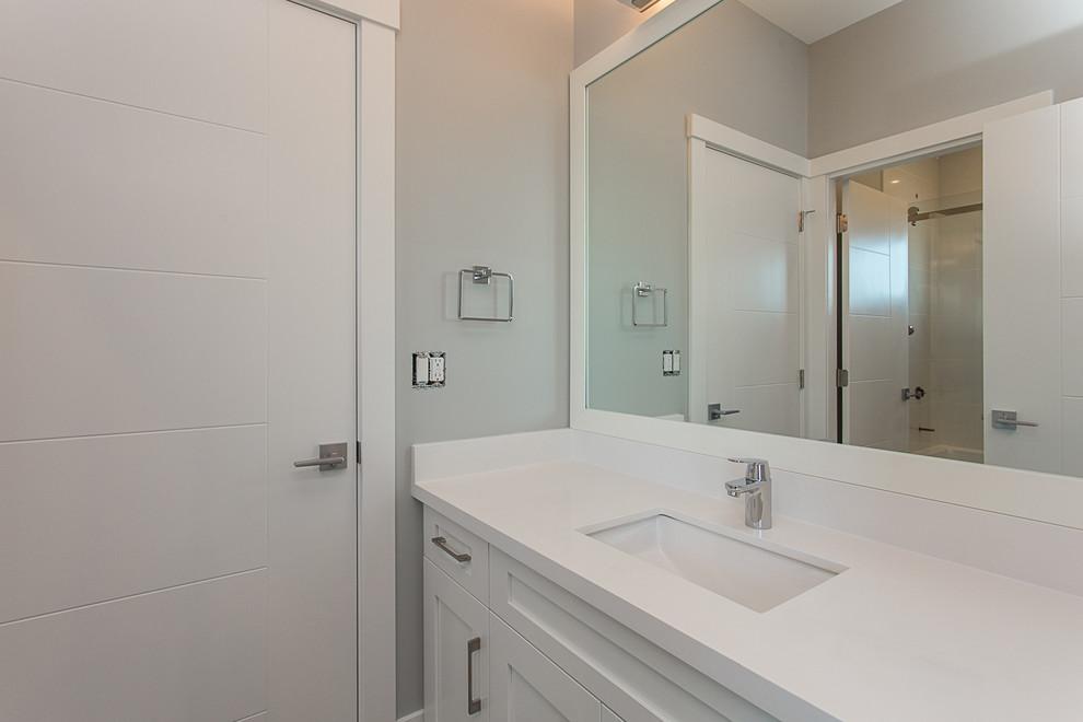 Transitional Custom Family Home - Transitional - Bathroom ...
